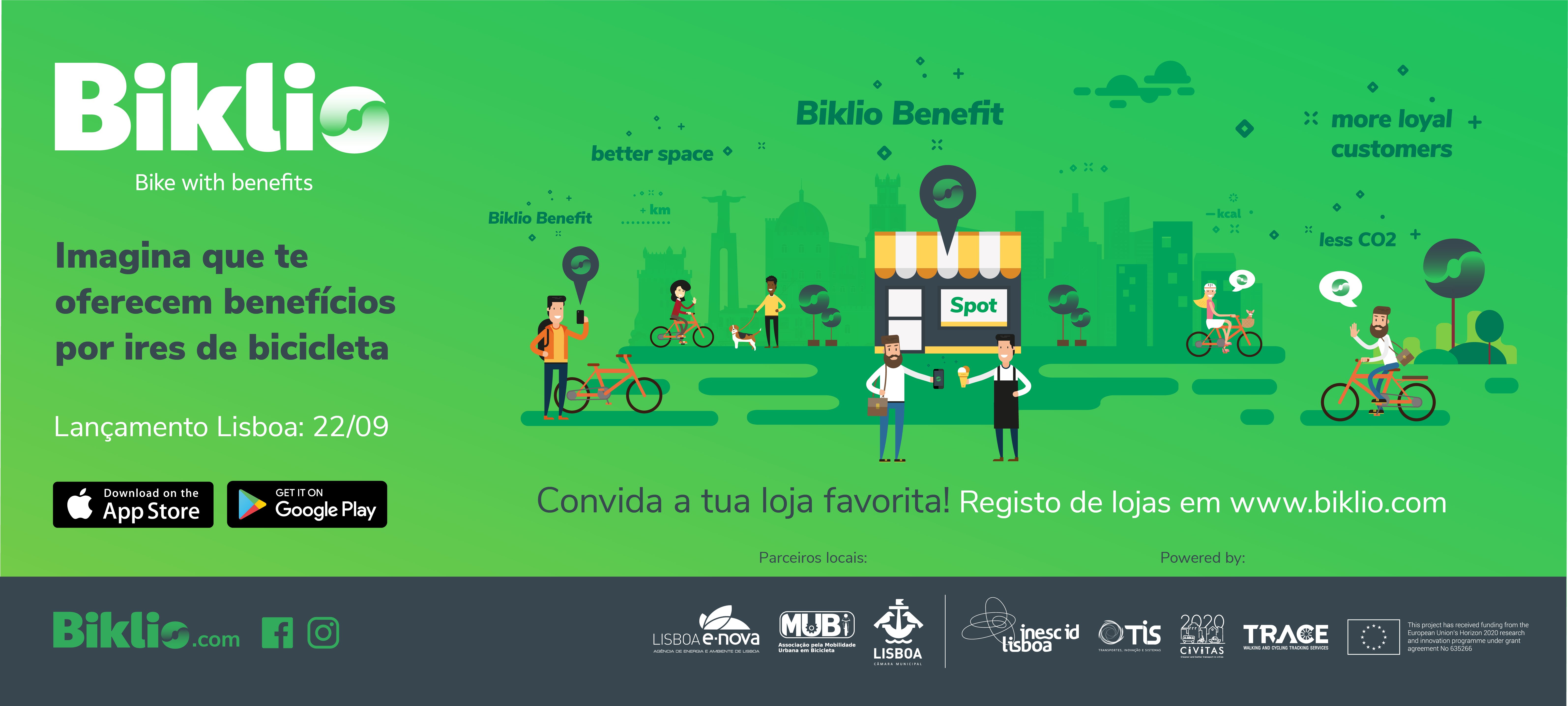 Biklio Bike To Shop Campaign Lisboa 1