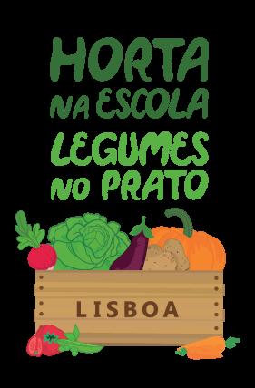 logotipo hortaescolas vcores