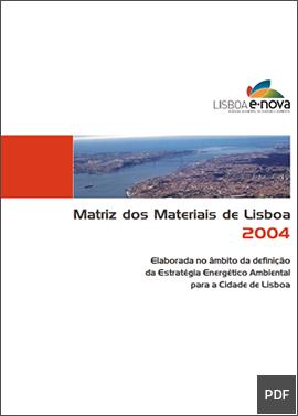 Matriz dos Materiais de Lisboa (2004)